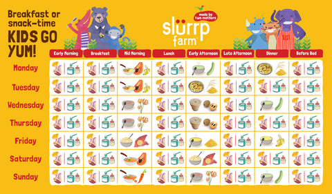 6 Months Baby Food Chart for Indian 05