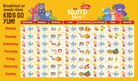 6 Months Baby Food Chart for Indian 06