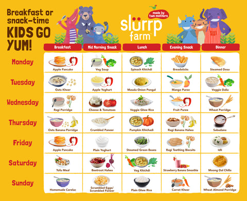 8 Months Baby Food Chart for Indian 03
