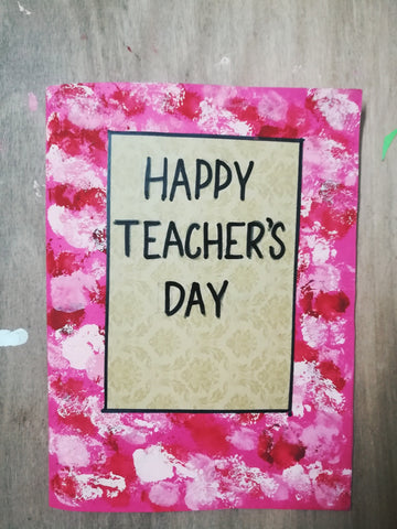 Handmade Teachers Day Cards 22