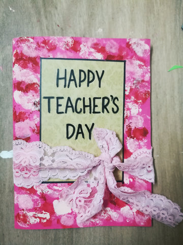 Handmade Teachers Day Cards 24