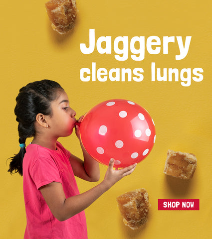 Jaggery cleans lungs