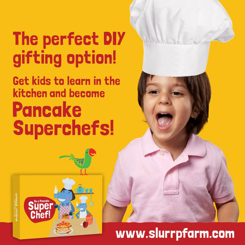 Slurrp Farm Superchef Pancake box