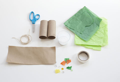Toilet Paper Roll Binoculars - Craft Activities - Material required