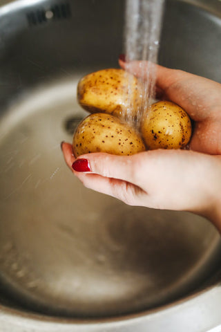 Treat Loose Motions In Children - potassium  rich potatoes
