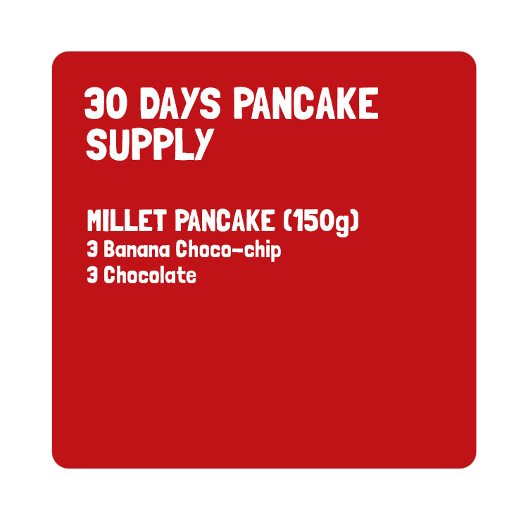 Super Combo - 30 day Pancake supply