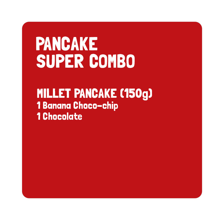 Super Combo- Millet Pancake (Pack of 2)