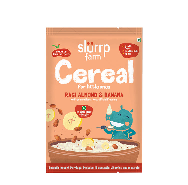 TRIAL PACK - Ragi, Almond and Banana Cereal | Porridge Mix, 50g