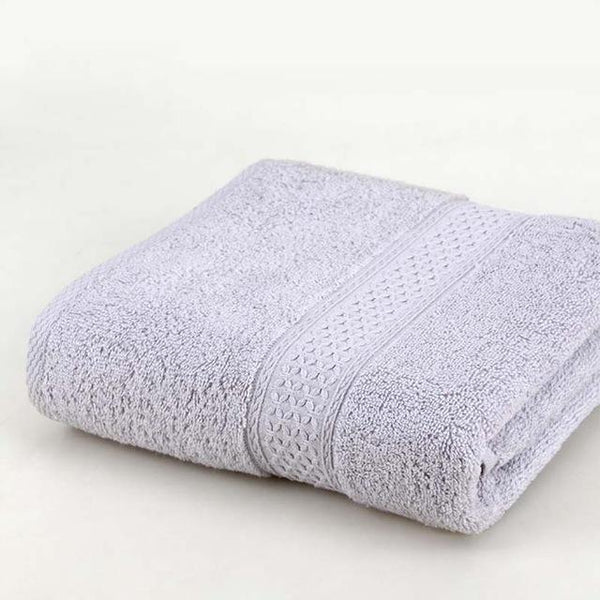 Cotton Absorbent Bath Towel Large 70*140cm Solid Quick-Drying 17 Colors Soft Bath Towel Thick Spa Towel for Adult
