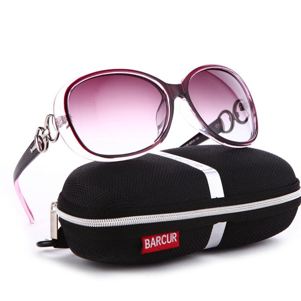 BARCUR  New Polarized Sunglasses Women Brand Designer Female Sunglass Vintage Sun Glasses