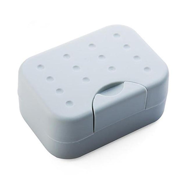 New Travel Soap Dish Box Case Holder Hygienic Easy To Carry Soap Box