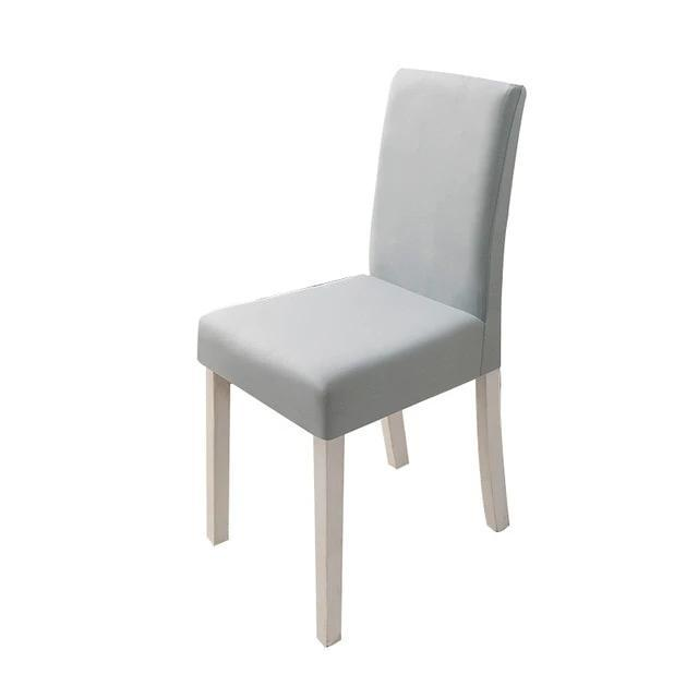 Plain Chair Covers Spandex Dining Room Stretch Seat Cover Chair Protective Case
