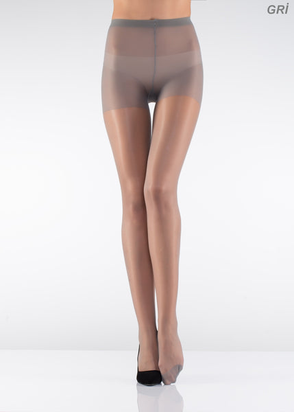 15 Den Control Top Shiny Pantyhose