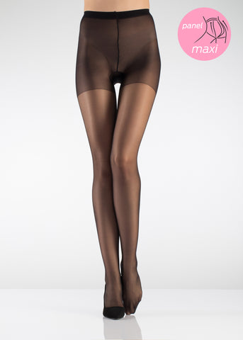 15 Den Maxi Sandal Toe Tights