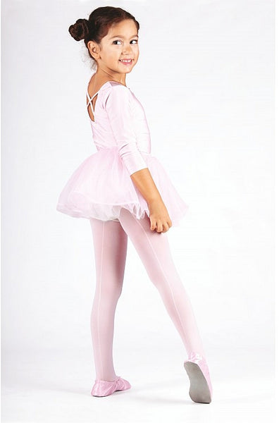 Kids Seamed Ballet Tights
