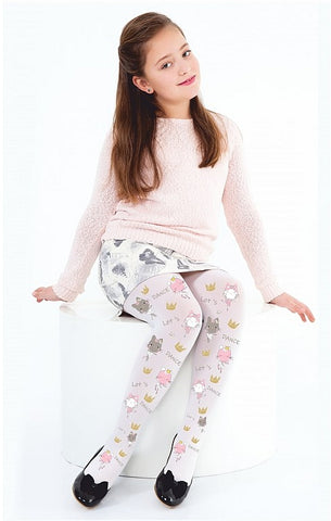 Let's Dance Kids Pattern Tights