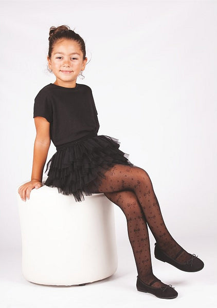 Ribbon Kids Tights