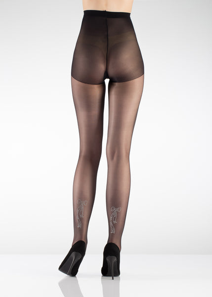 Talia Decorated Fashion Tights