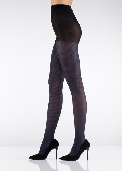 70 Den Pattern Opaque Tights