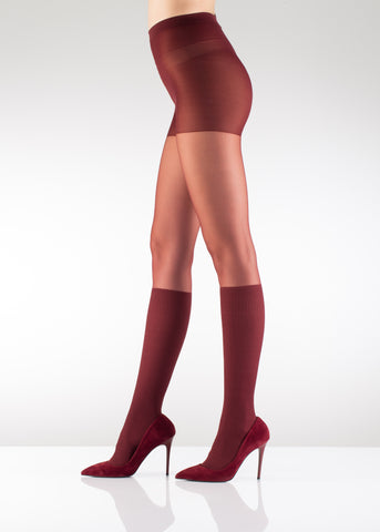 Sima Knee high Fashion Tights