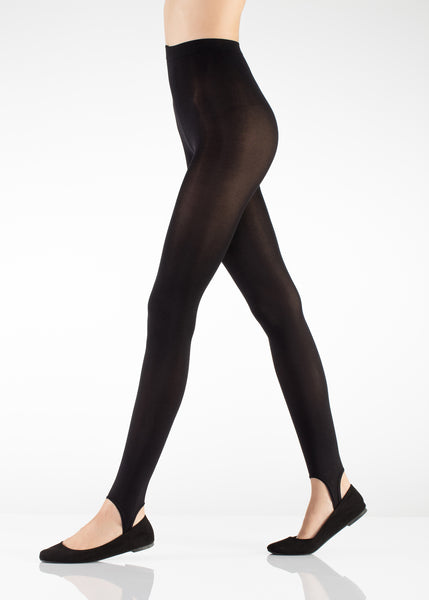 Workout Leggings with Foot Straps 120 Den