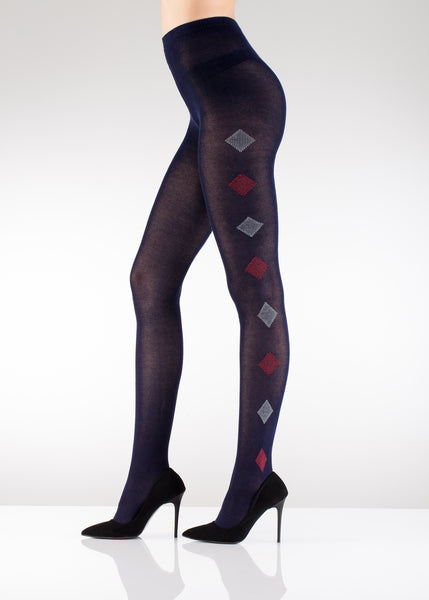 Diamond Old School Winter Tights