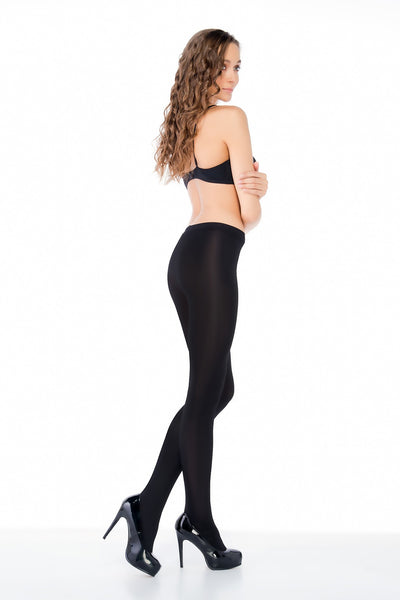 *120 Den Wet Look Tights by Penti
