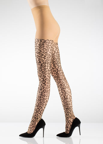 leopard pattern pantyhose canada australia quebec montreal toronto vancouver