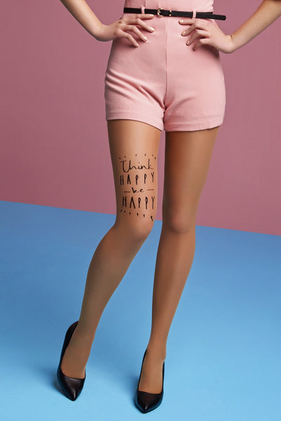 *Think Happy Be Happy Tights