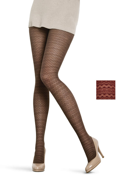 Lacy Patterned Tights
