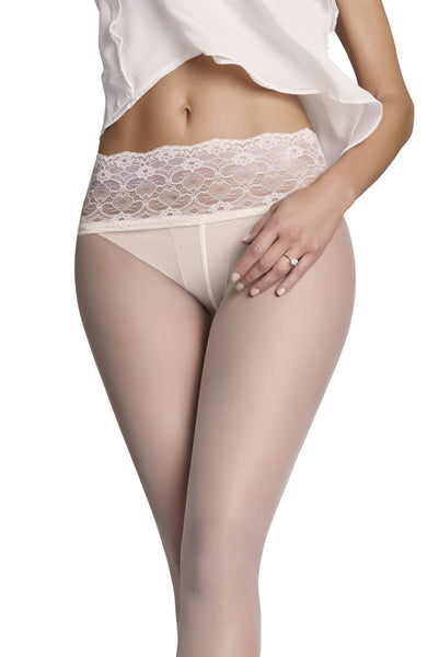 Monika Lace-Waist 10 Den Tights