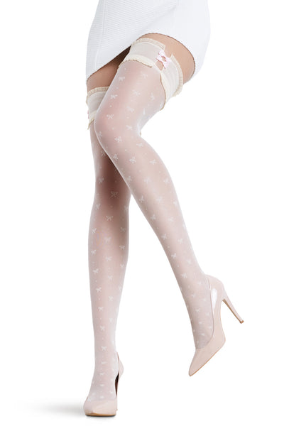 Diana Patterned Fashion Stockings by Penti