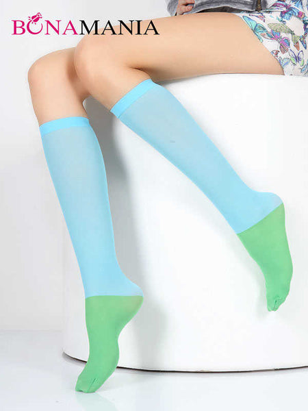 london blue green socks