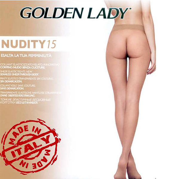 *Golden Lady 15 Den Seamless sheer to waist Tights