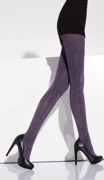 Almina Patterned Fashion Tights