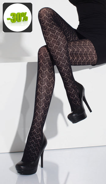 Patterned Lace Tights by Day Mod