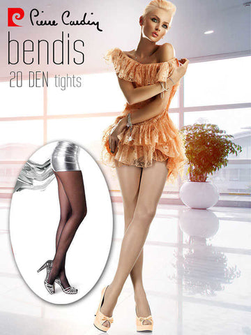 20 Den Tulle tights by Pierre Cardin