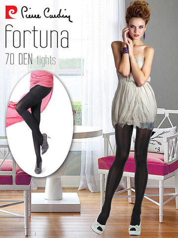 70 Den Satin Tights by Pierre Cardin x2 Pairs