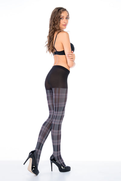 *Tartan patterned Tights by Penti