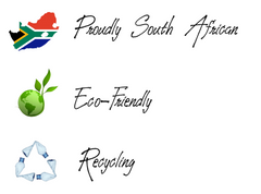 Stofpad proudly South African, Eco-Friendly, Recycling