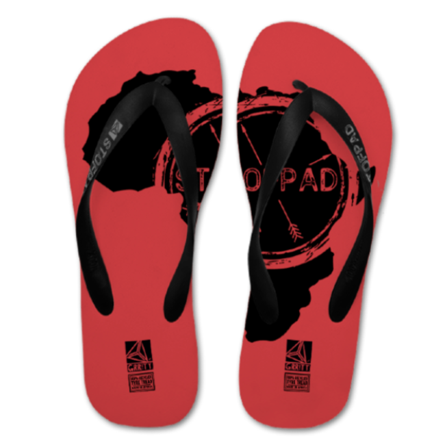 Stofpad Recycled Flip Flops (Africa) Red