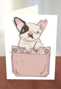 Cute dog greeting card from Cloud Publishing