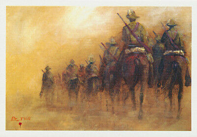 Australian Light Horse column greeting card from Cloud Publishing