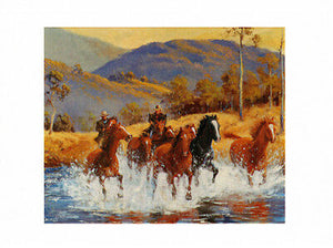 Man from Snowy river Brumby chase from Cloud Publishing