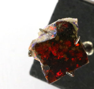 Andamooka Red Black matrix opal rub 2.15cts