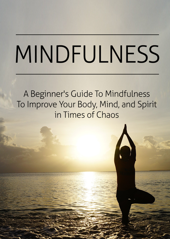 Mindfulness: A beginners guide to improve your body, mind and spirit in times of chaos + BONUS checklist and resources. Distributed by Cloud Publishing