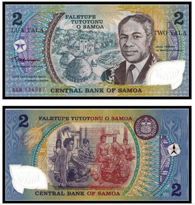 Replaced by a Coin Samoa 1990 Polymer Note UNC 2 Tala