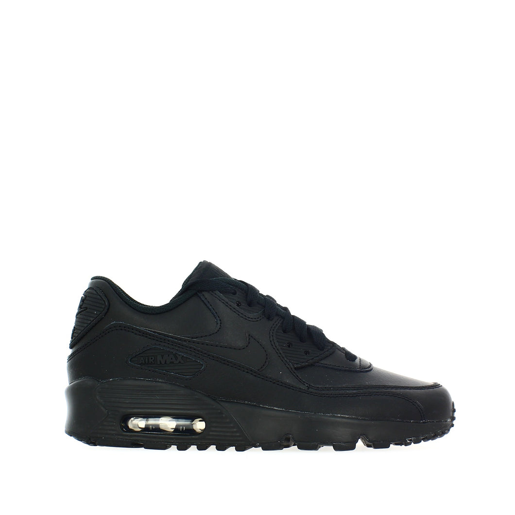 AIR MAX 90 LTHR GS BLACK-BLACK