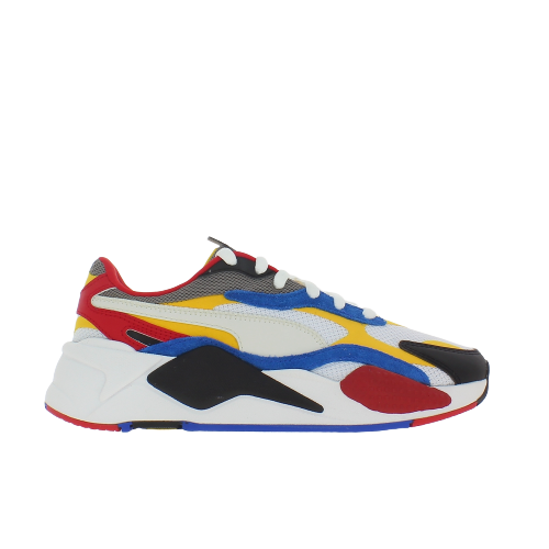 RS-X3 PUZZLE JR WHT-YELLOW-RED