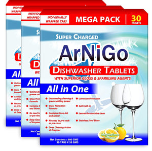 Arnigo (All in One) Dishwasher Tablets - 90 Tablets